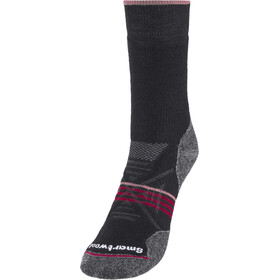 Smartwool PhD Outdoor Medium Calcentines Crew Mujer, black-tibetan red